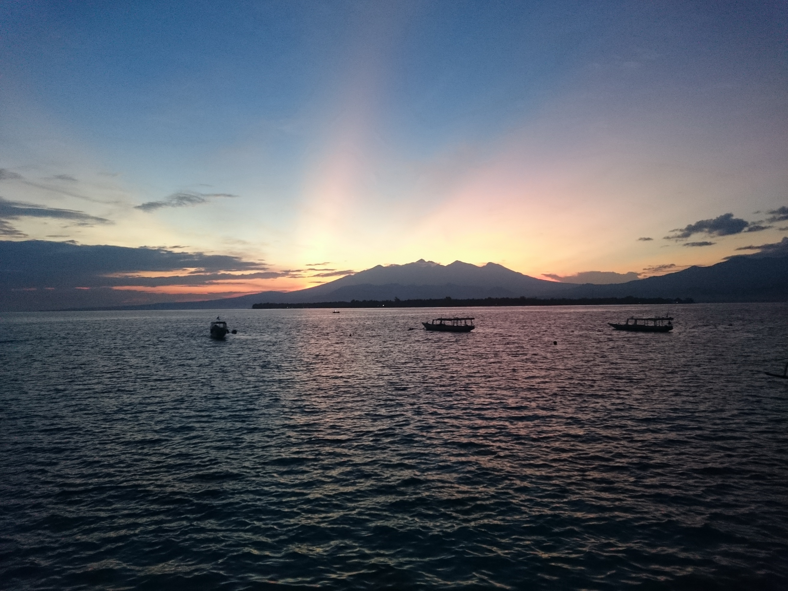 Matahari Terbit Gili Meno Steemit Pulau Kab Lombok Utara