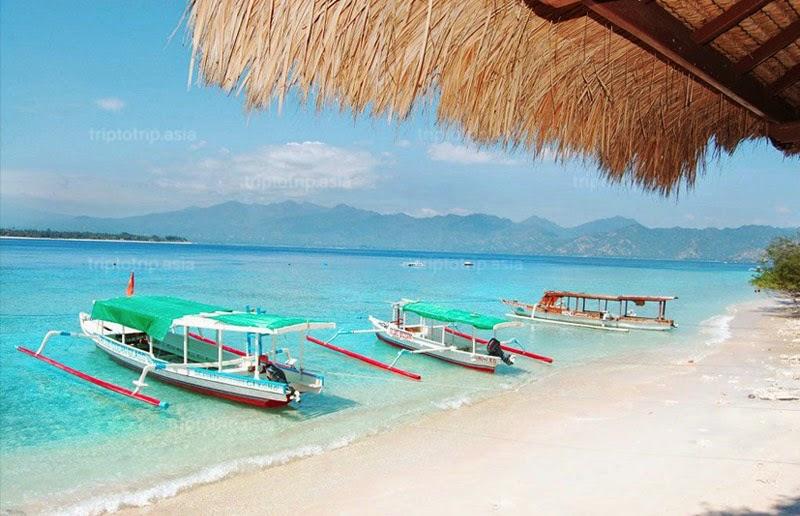 Mouria Bidarinjani Blog Archive Lombok Utara Benar Gili Meno Air