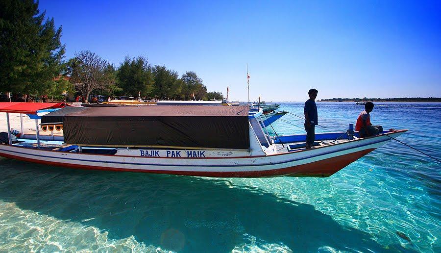 Private Snorkeling Trip Gili Trawangan Meno Air Keliling Boat Menyebrang