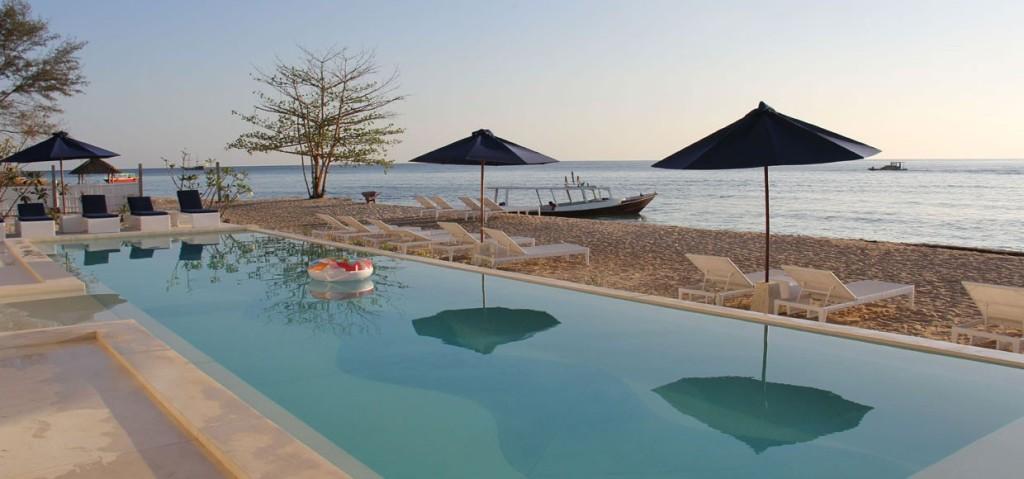 Seri Resort Gili Meno Beach Front Lombok Indonesia Pulau Kab