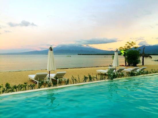 Seri Resort Pool Sea View Picture Gili Meno Pulau Kab