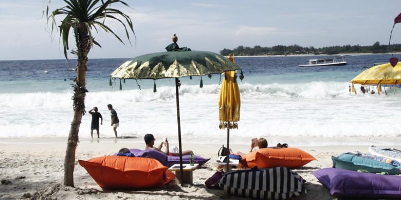 Tak Gili Trawangan 5 Pesona Alam Lombok Utara Pulau Meno