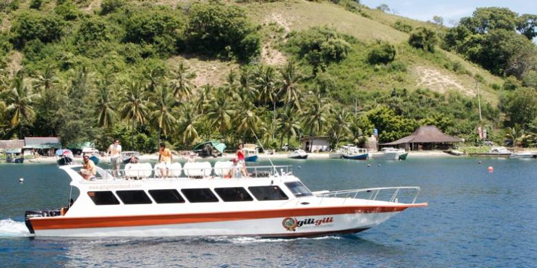 Tips Menuju Gili Trawangan Kompas Pulau Meno Kab Lombok Utara