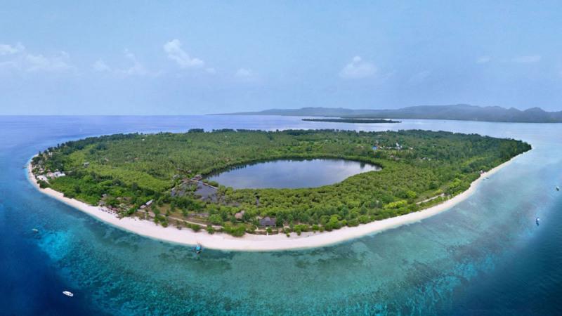 5 Alasan Gili Meno Lombok Lebih Ekotis Trawangan Pulau Kab