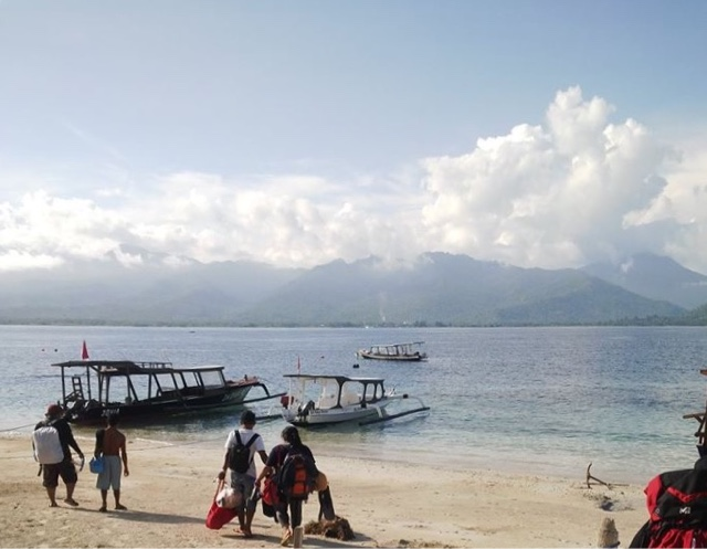 Gili Air Objek Wisata Mulai Meroket 2016 Lombok Society Hal