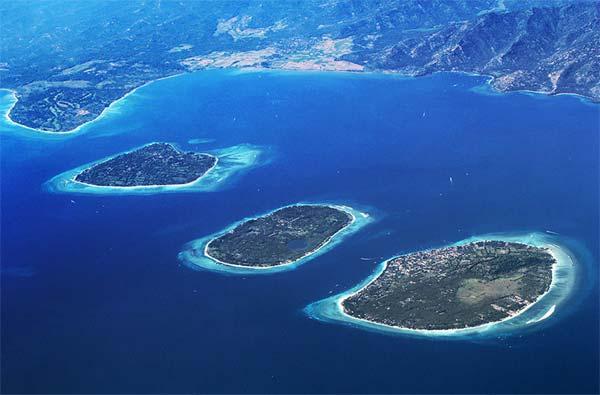 Keliling Gili Trawangan Pulau Cantik Bebas Polusi Paket Wisata Kab