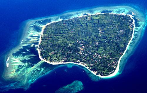 Klu Keren Keindahan Kabupaten Lombok Utara Gili Meno Pulau Antara