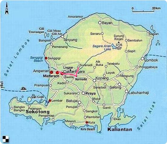 Lombok Info Travelling Gili Disebelah Timurnya Meno Air Kedua Pulau