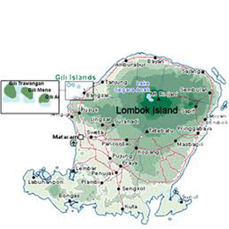 Lombokutara Gambar Pulau Gili Trawangan Kab Lombok Utara