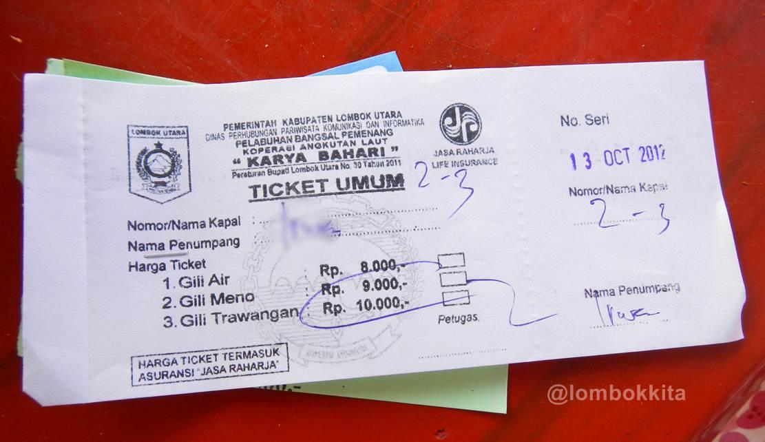 Menikmati Gili Meno Lombok Utara Jalan Makan Pengalaman Kemaren Sembari