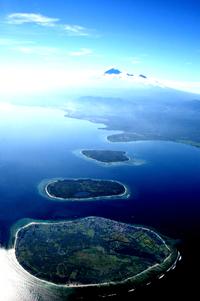 Objek Wisata Nusa Tenggara Barat Nusantara Pulau Gili Trawangan Meno