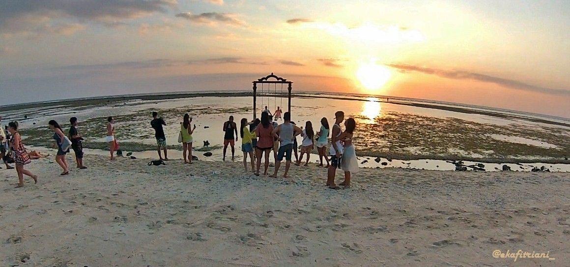 Siapa Tidak Kenal Gili Trawangan Pulau Berada Lombok Utara Tekenal