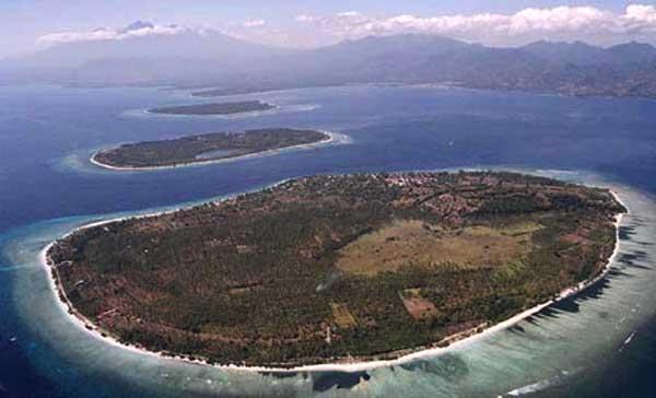 Wisata Budaya Lombok Utara Gili Trawangan Air Laut Pulau Jernih
