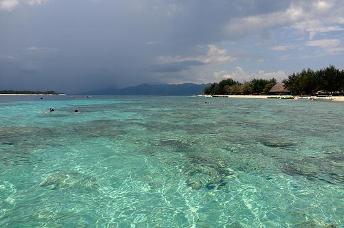 Wisata Lombok Travel Gili Trawangan Salah Satu Objek Berada Pulau