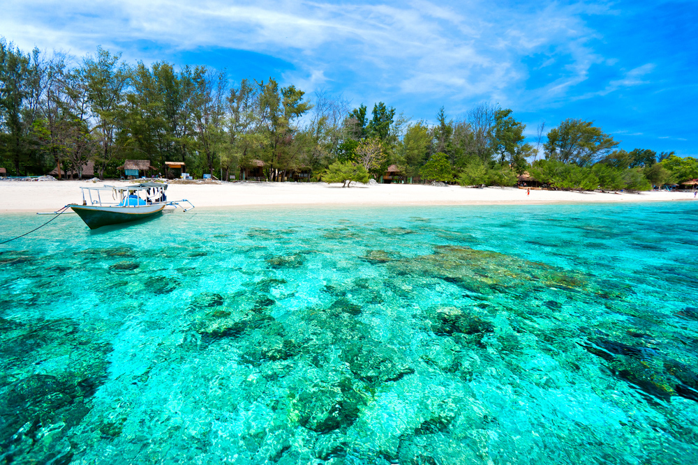Wisata Pulau Gili Air Lombok Utara Aneka Nusantara Trawangan Kab