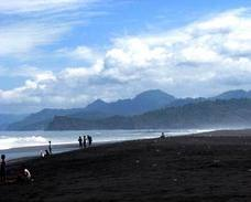 Pantai Bambang Lumajang Indonesian Beach Salah Satu Icon Kabupaten Secara