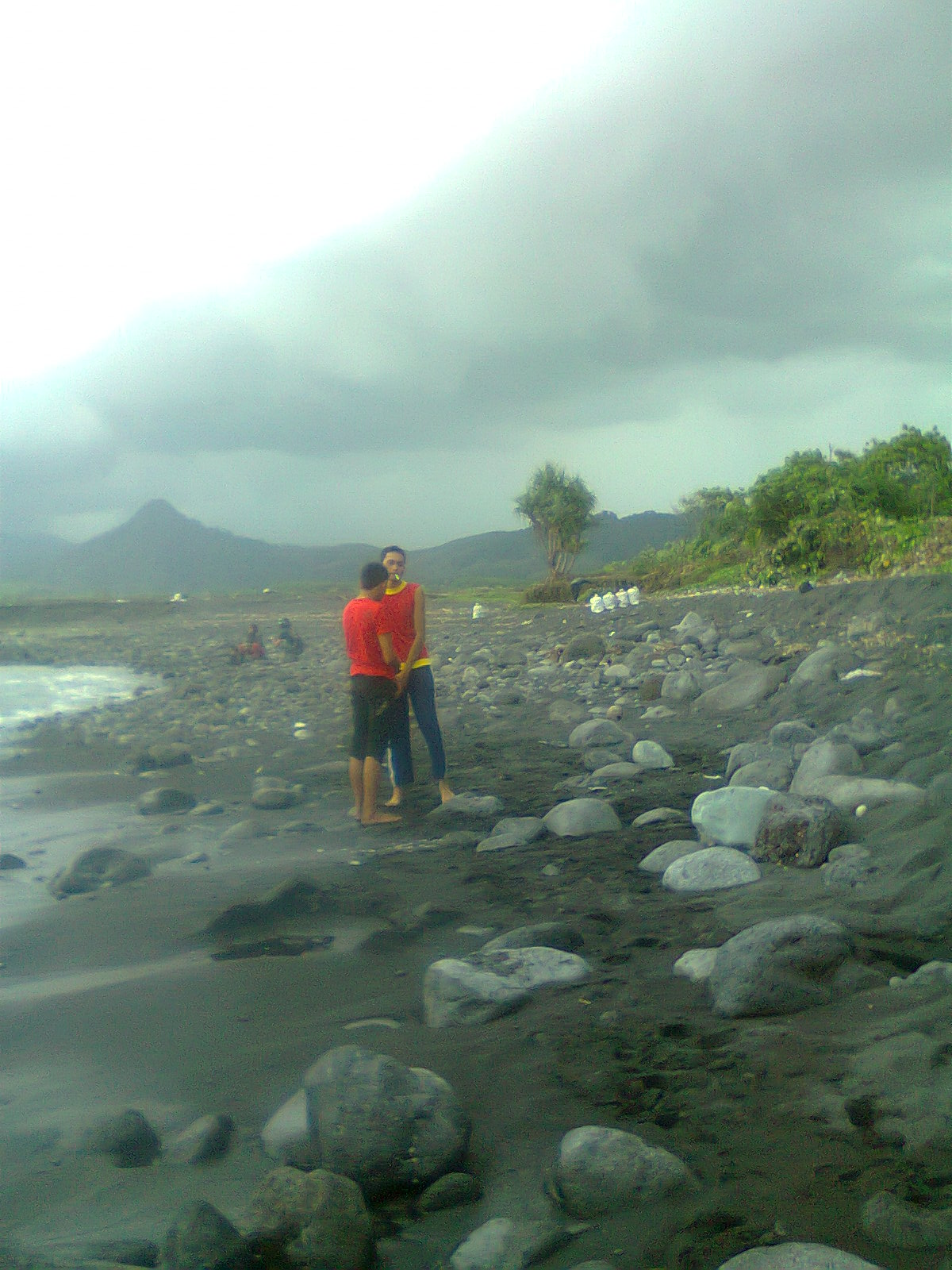 Pantai Bambang Lumajang Sichesse Terletak Desa Pasirian Terkenal Keindahan Pasirnya