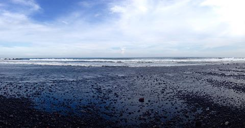 Pantai Bambang Pasir Hitam Lumajang Punya Wisata Murah Meriah Kab