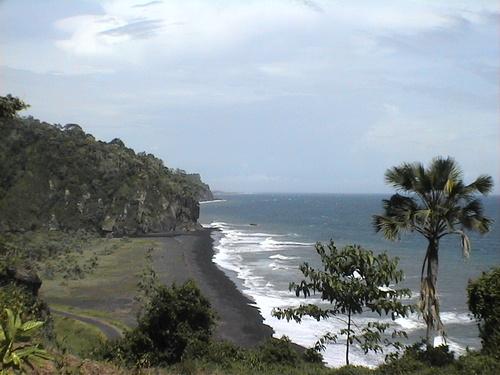 Pantai Watu Pecak Pariwisata Lumajang Bambang Kab
