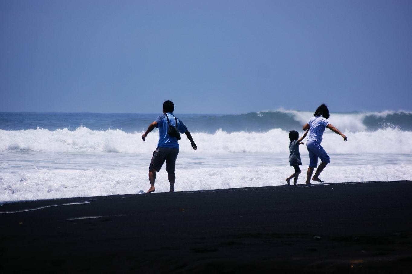 Tempat Wisata Lumajang Menarik Kunjungi Pantai Bambang Matainginbicara Wordpress Kab
