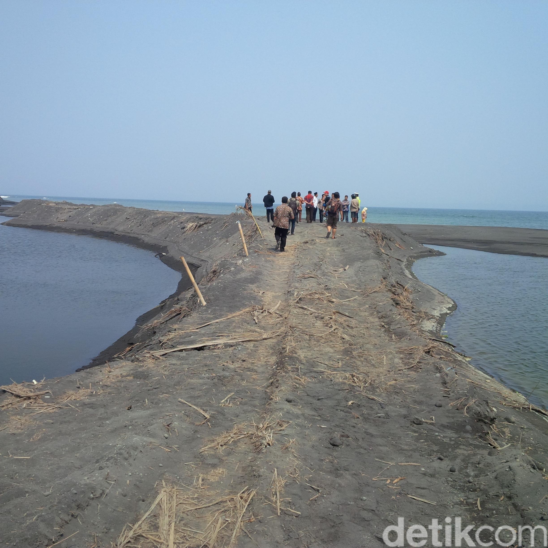 Digaris Polisi Pantai Watu Pecak Rusak Ditambang Eksplorasi Inilah Mengakibatkan