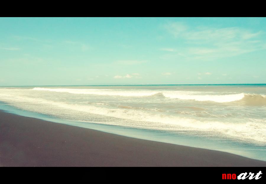 Objek Wisata Pantai Bambang Lumajang Nnoart Tlepuk Kab