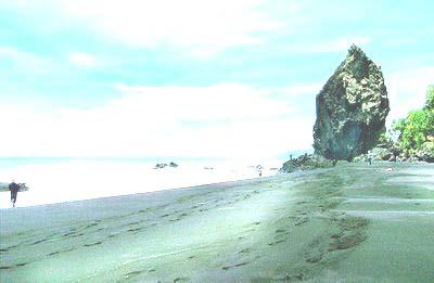 Pantai Watu Gedeg Kabupaten Lumajang Wisata Jawatimuran Obyek Godeg Terletak