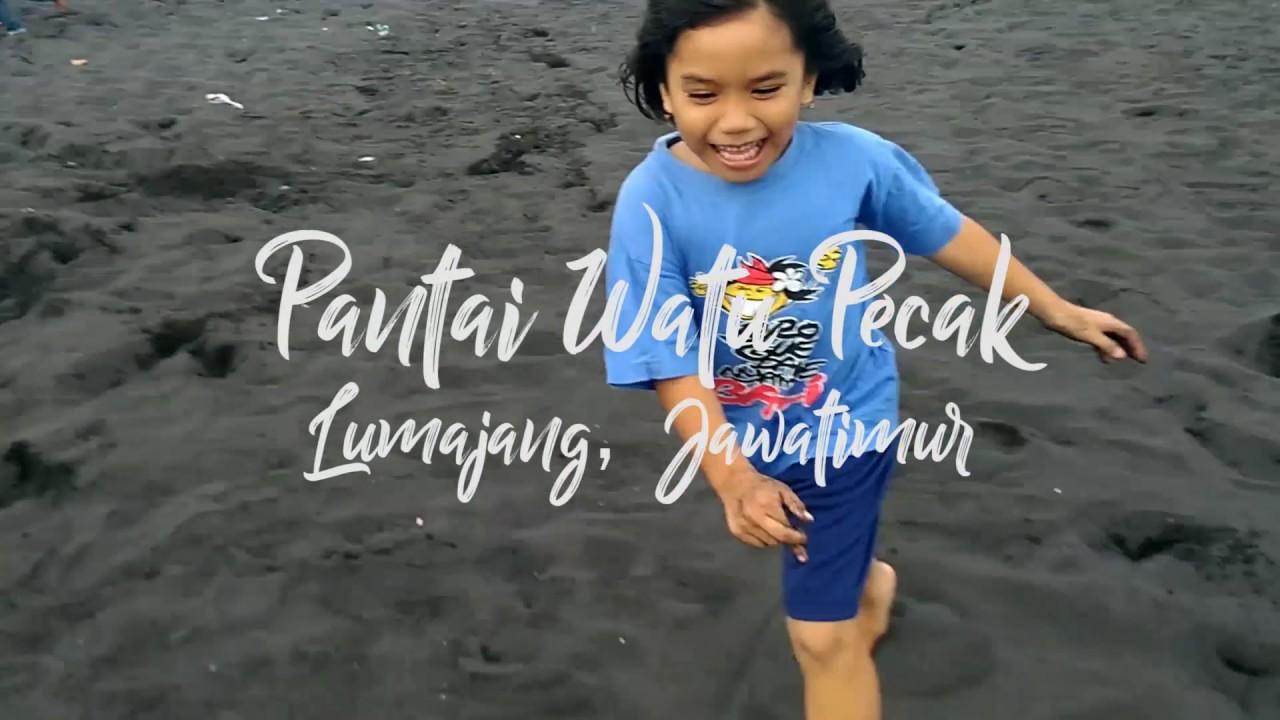 Pantai Watu Pecak Lumajang Jawa Timur Full Hd Youtube Kab