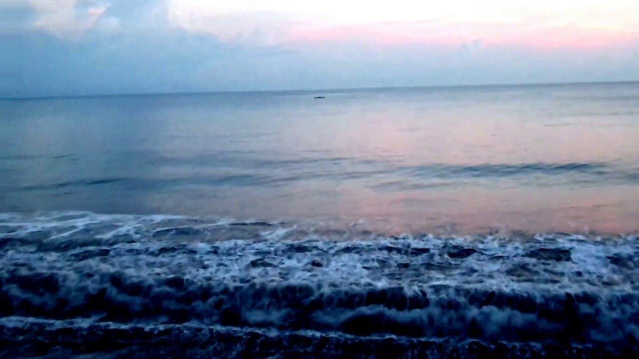 Sunset Pantai Watu Godeg Lumajang Youtube Pecak Kab
