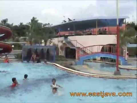Lumajang Waterpark East Java Travelerbase Traveling Family Water Park Kawasan