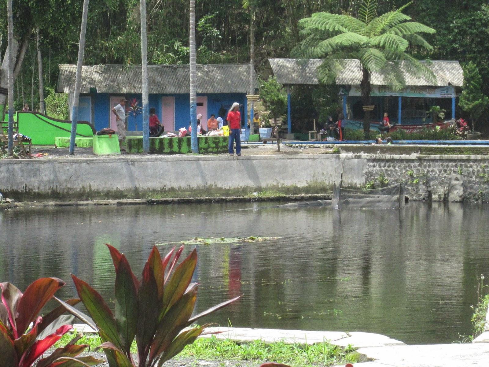 Wisatalumajang April 2016 Pemandian Alam Tirtosari Dikunjungi Wisatawan Water Park