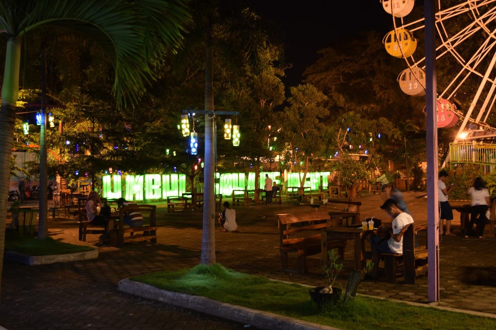 7 Wisata Malam Madiun Recommended Umbul Square Night Festival Alun