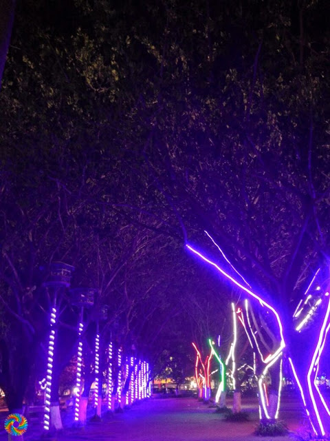 Kota Madiun Temaram Lampu Malam Bulan Agustus Colour Kegelapan Keheningan