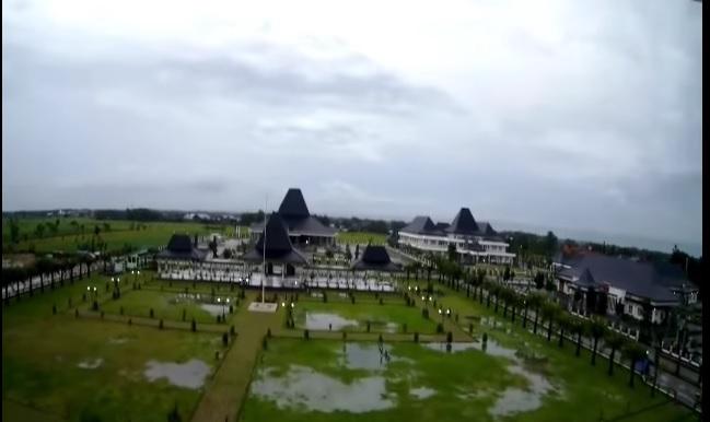Kota Mejayan Madiun Indonesia Pemandangan Alun Lewat Beginilah Suasana Diresmikan
