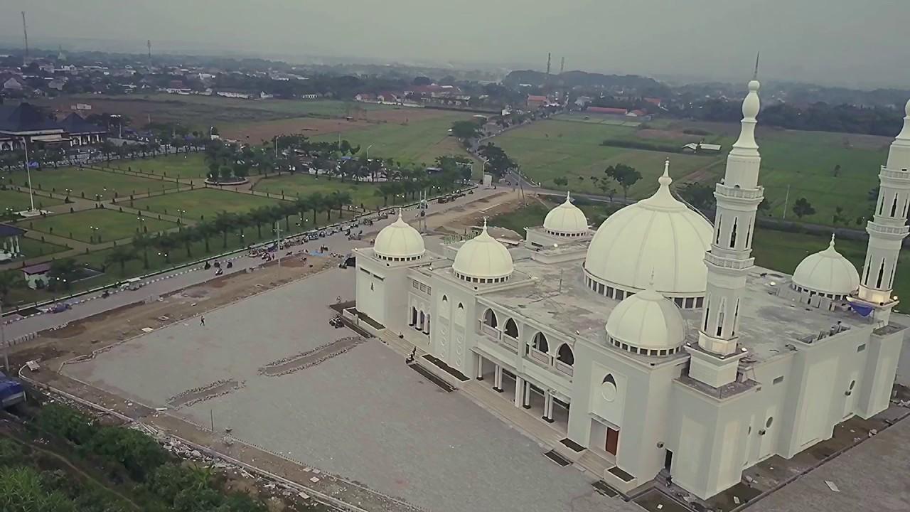 Masjid Agung Kabupaten Madiun Youtube Alun Kota Kab