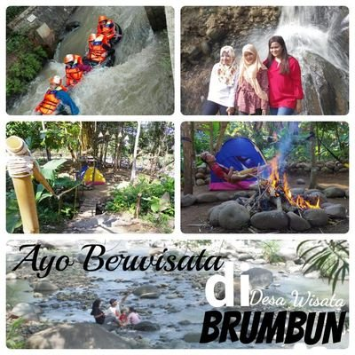 Desa Wisata Brumbun Dewibrumbun Twitter Tubing Adventure Kab Madiun
