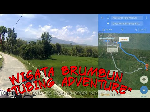 Tempat Wisata Brumbun Tubing Adventure Kab Madiun Dungus Youtube Desa