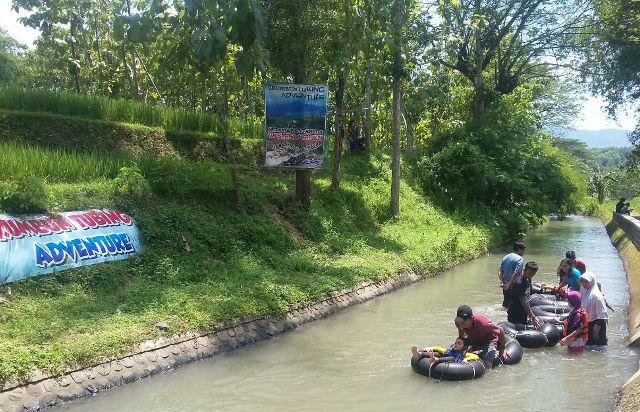 Wisata Madiun Asyiknya Pelesir Desa Brumbun Tubing Kecamatan Wungu Kabupaten