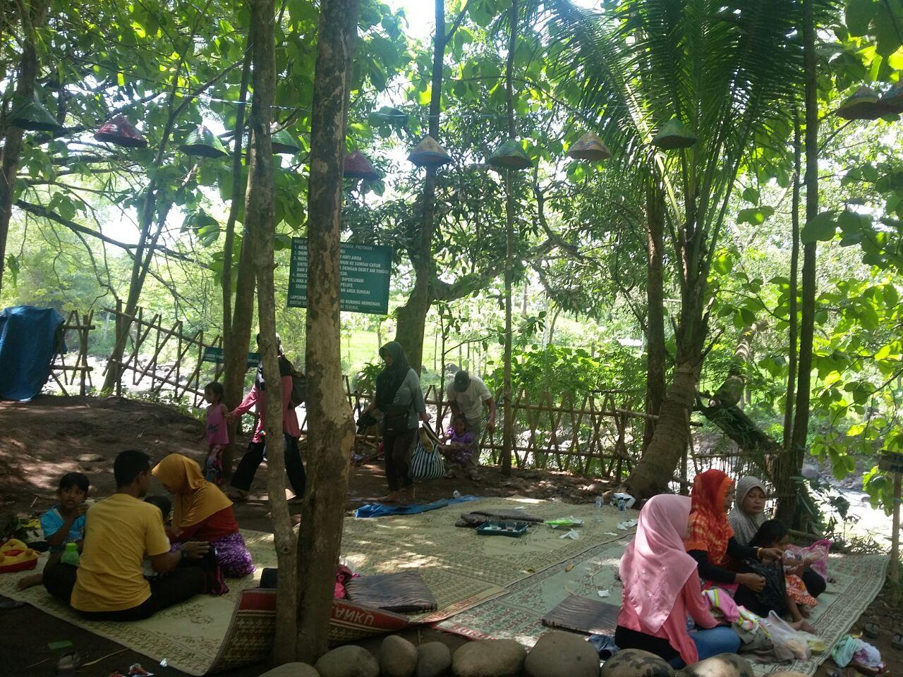 Wisata Madiun Asyiknya Pelesir Desa Brumbun Wisatawan Bersantai Kecamatan Wungu