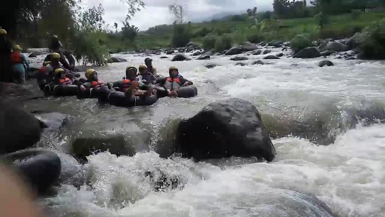 Wisata Tubing Desa Brumbun Youtube Adventure Kab Madiun