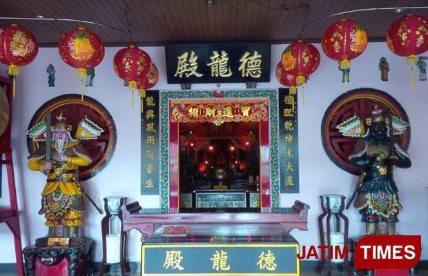 Banyuwangi Times Peristiwa Suasana Klenteng Tik Liong Tian Rogojampi Jelang