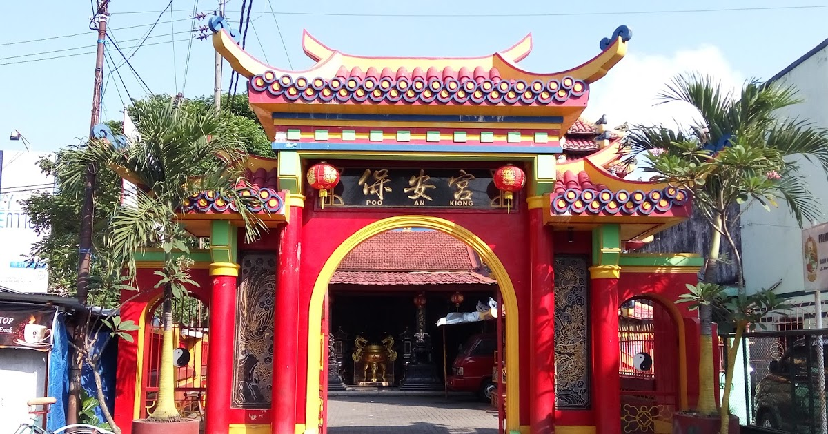 Klenteng Poo Kiong Blitar Kekunaan Madiun Tri Dharma Kab