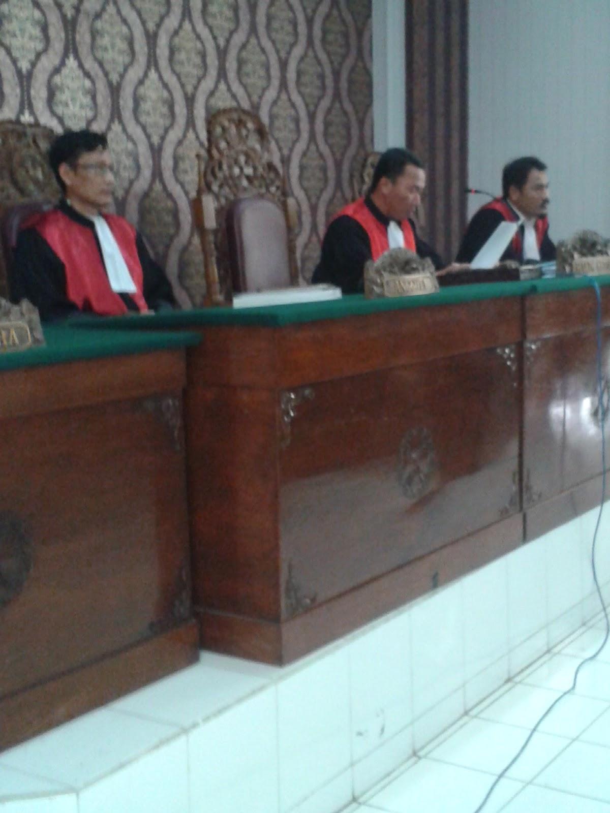 Pengadilan Negeri Bojonegoro Akhirnya Tolak Gugatan Tan Tjien Hwat Menolak