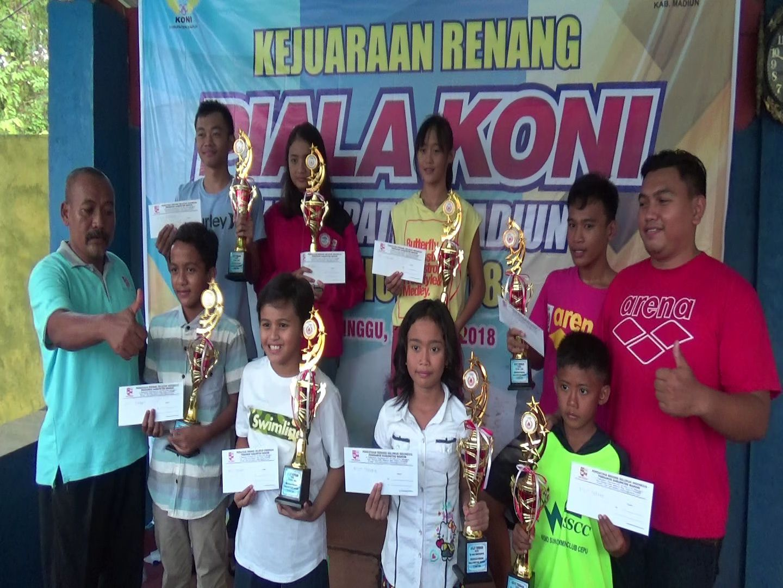Kejuaraan Renang Agenda Rutin Koni Kab Madiun Komite Olah Raga