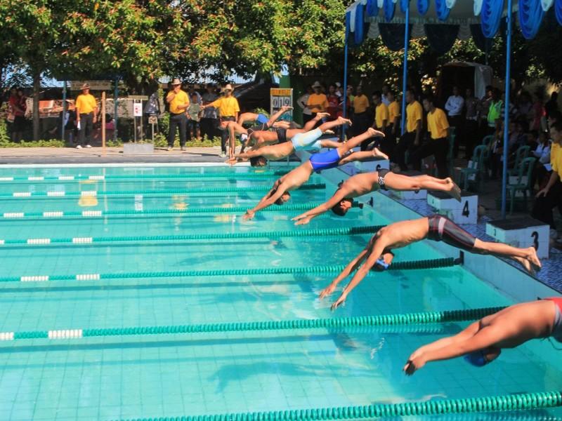 Olahraga Jatim Menjadi Barometer Renang Rri Kolam Piranha Kab Madiun