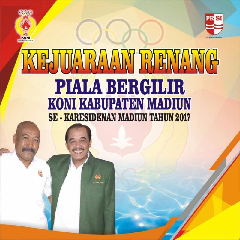 Olahraga Prsi Kab Madiun Gelar Lomba Renang Eks Karesidenan Piala