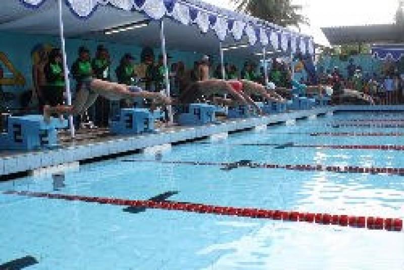 Olahraga Prsi Kabupaten Madiun Gelar Kejuaraan Renang Piranha Cup 2016