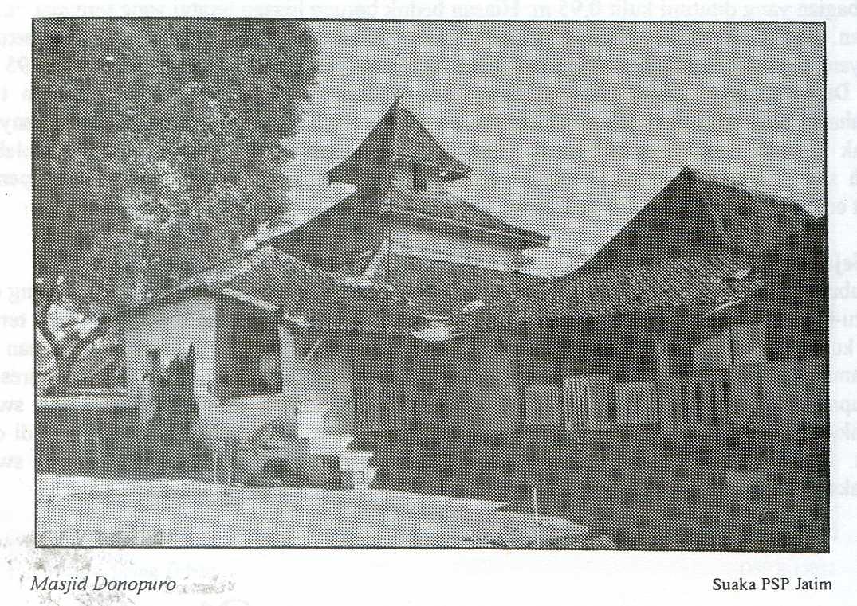 Masjid Kuno Jawa Timur Donopuro Madiun Pusaka Jawatimuran Secara Administrasi