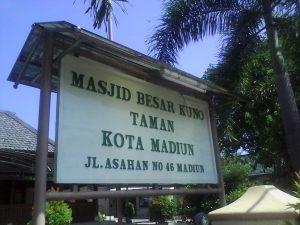 Masjid Kuno Taman Madiun Makam Kab