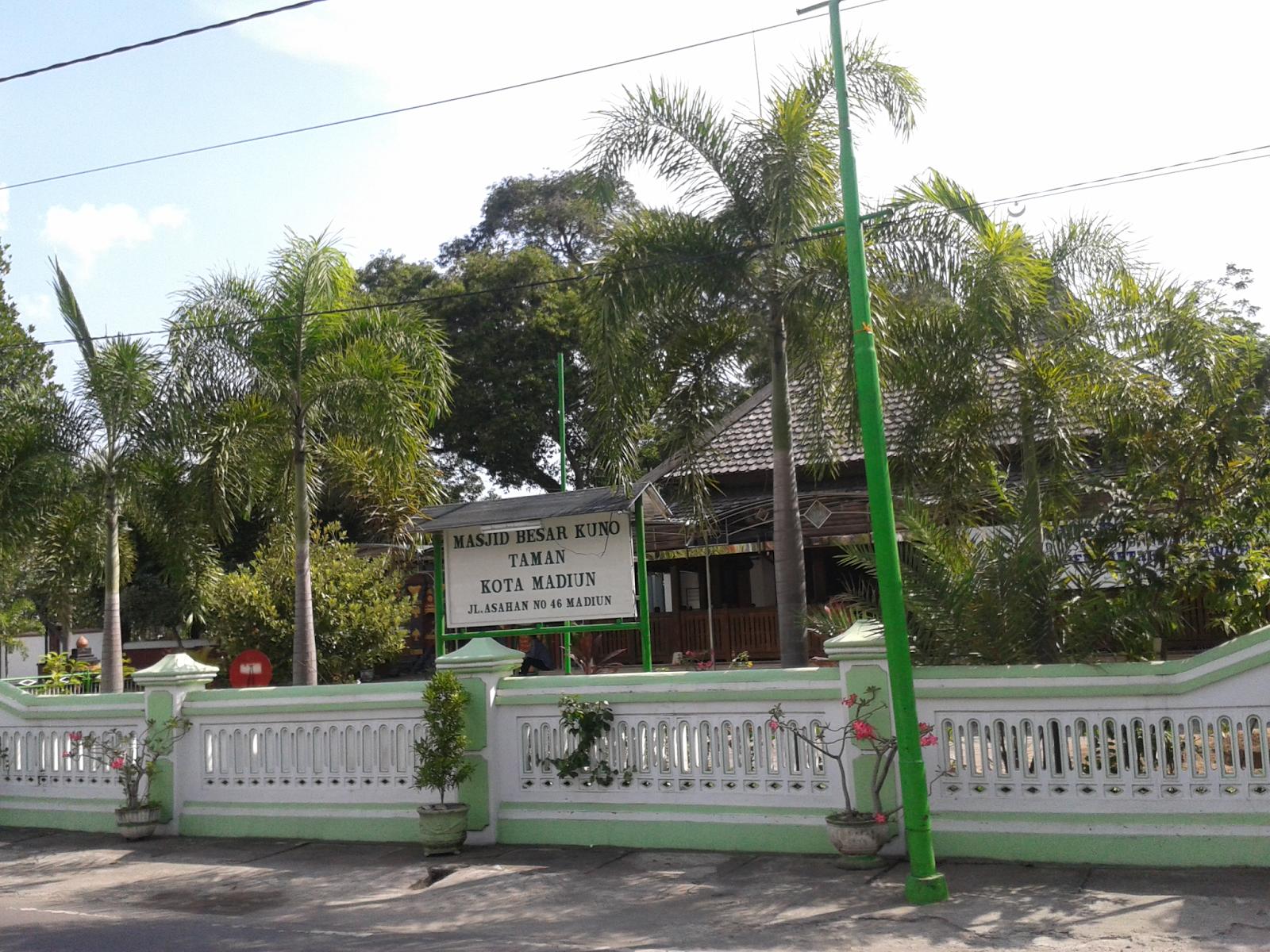 Mengunjungi Wisata Religi Masjid Makam Taman Madiun Kabar Khalayak Umum